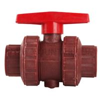 增强聚丙烯承插式球阀(红色)Q61F-10S-DN20
