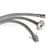 不锈钢金属编织冷热进水软管水管