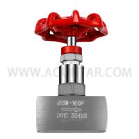 高压不锈钢针型阀门J13W160P 螺纹丝口针型阀