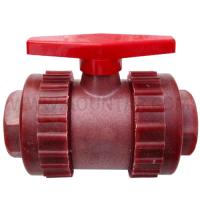 RPP丝口式球阀(红色)DN25